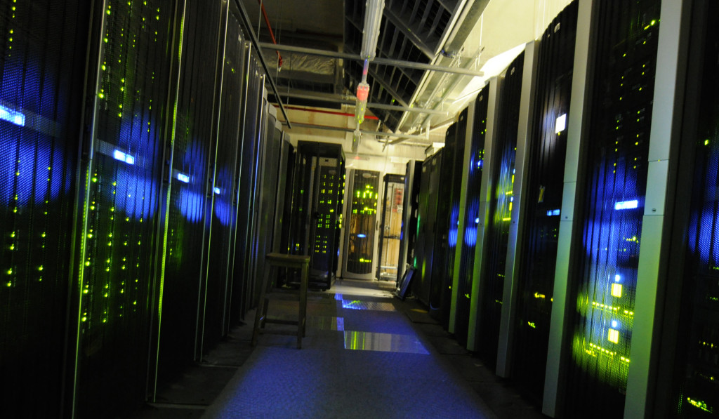 A view of the server room at The National Archives (UK) | Wikimedia Commons