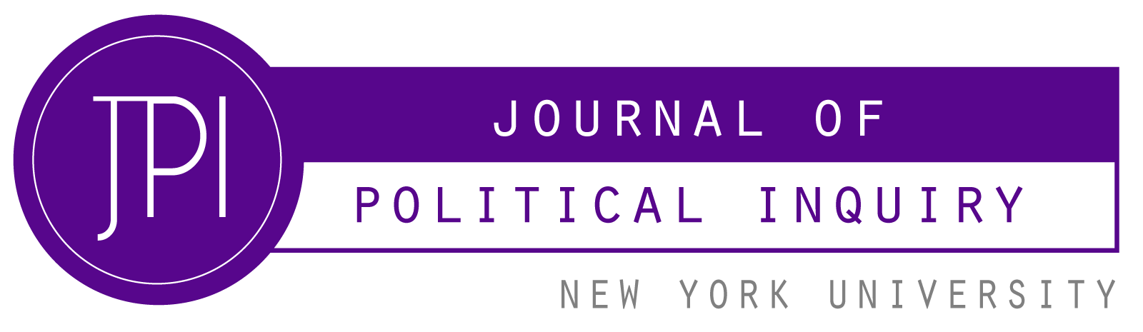 Journal of Political Inquiry