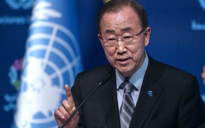 UN Secretary General Ban Ki-Moon