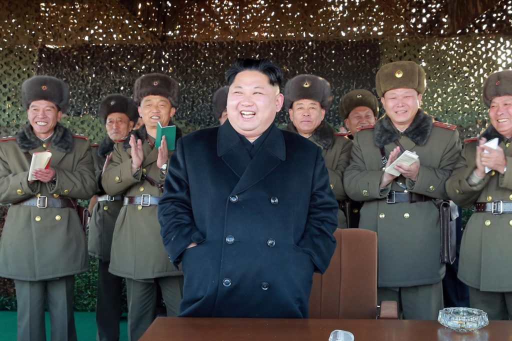Undated picture released from North Korea's official Korean Central News Agency on Dec. 2, 2016, shows North Korean leader Kim Jon Un. / AFP PHOTO / KCNA via KNS (Kcna/AFP/Getty Images) | Washington Post